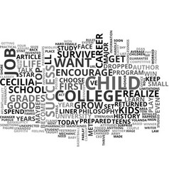 what do you want to be when you grow up text word vector image