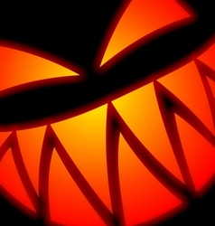 Halloween Scary Face vector image vector image