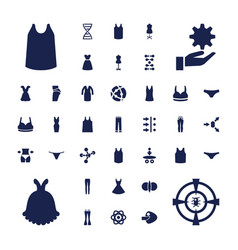 37 model icons vector