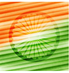 background for indian republic day vector image