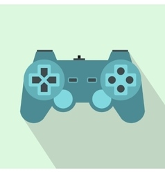 Game controller icon flat style vector image