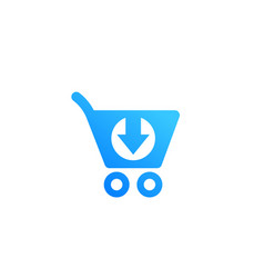 Purchase order commerce icon isolated on white vector