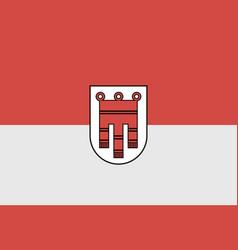 Vorarlberg flag vector