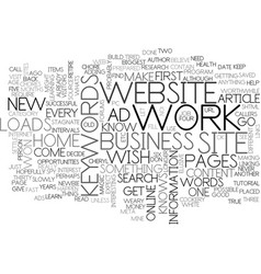 what do you wish for text word cloud concept vector image