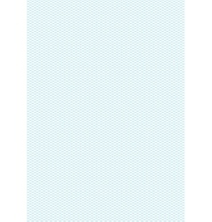 Cyan color isometric grid a4 size vertical vector image vector image