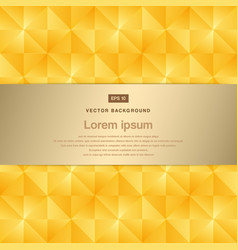 Abstract background modern luxury gold square vector
