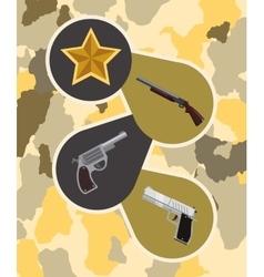 Armed forces design vector