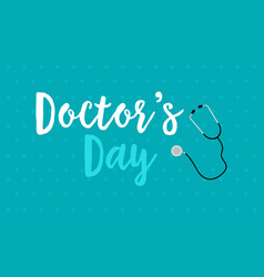 Background style world doctor day card vector