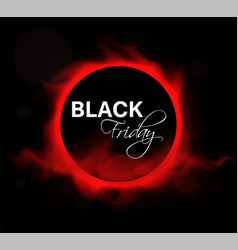 Black friday sale layout background vector