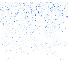 blue confetti seamless pattern set of particles vector image