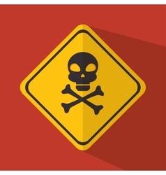 Caution signal design vector