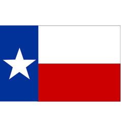 Flag texas vector
