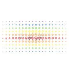 Galaxy spectrum halftone matrix vector