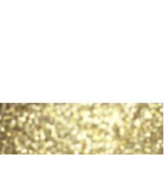 golden glitter border card vector image