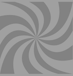 Grey spiral abstract background - graphic from vector