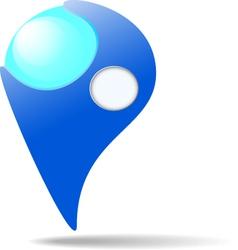 Map marker vector