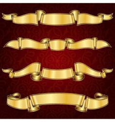 ribbon19 vector image