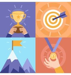 success concepts vector image