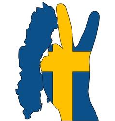 Swedish finger signal vector