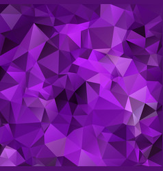 Abstract polygon square background purple vector