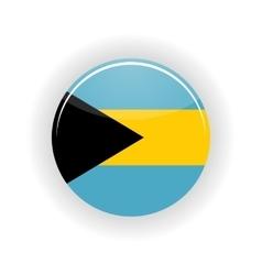 Bahamas icon circle vector image