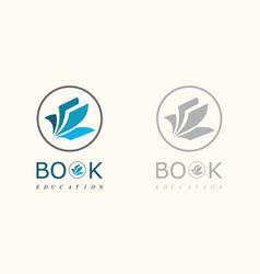 Book education logo vector