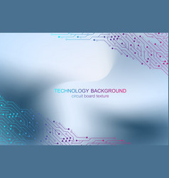 computer motherboard background vector image