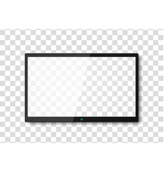 modern tv screen vector image