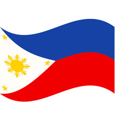 Original and simple republic of the philippines vector