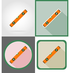 repair tools flat icons 16 vector image