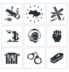Ukraine Icons Set vector