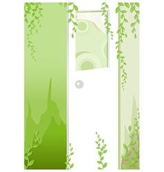 Doorway vector image