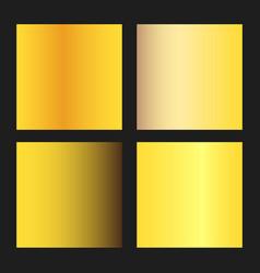 golden gradients vector image vector image