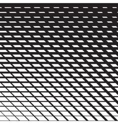 Line halftone pattern vector image vector image