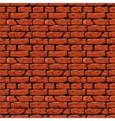 Brick wall texture Eps8 vector image