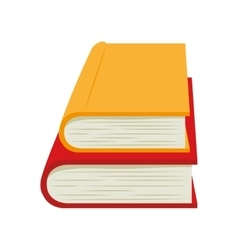 Book stack education read vector