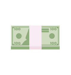 dollar sign money dollar icon dollar bill symbol vector image
