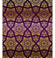 Islamic seamless pattern vector image
