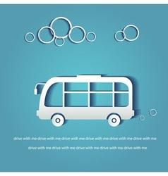 Paper transportation vector image