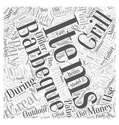 Save Money when you Buy Outdoo Items Word Cloud vector image