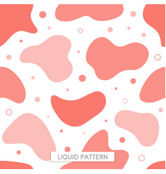 seamless pattern fluid coral background graphics vector image