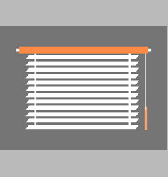 Window-blind interior piece vector