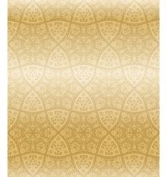 sepia seamless arabesque vector image vector image