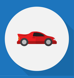 Of automobile symbol on vector