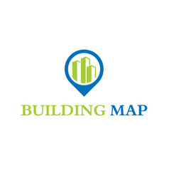 Building map vector