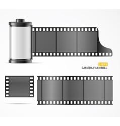 Camera film roll cartridge vector