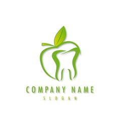 Dentist business logo vector