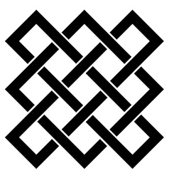 Endless celtic knot vector