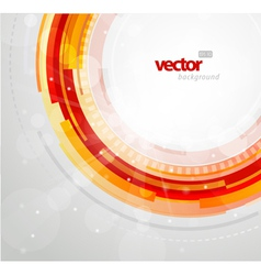futuristic circles vector image