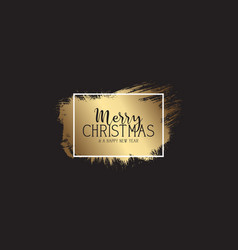 grunge style christmas banner vector image